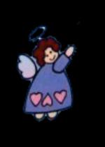 Engel 18 bunt colorierte Engel